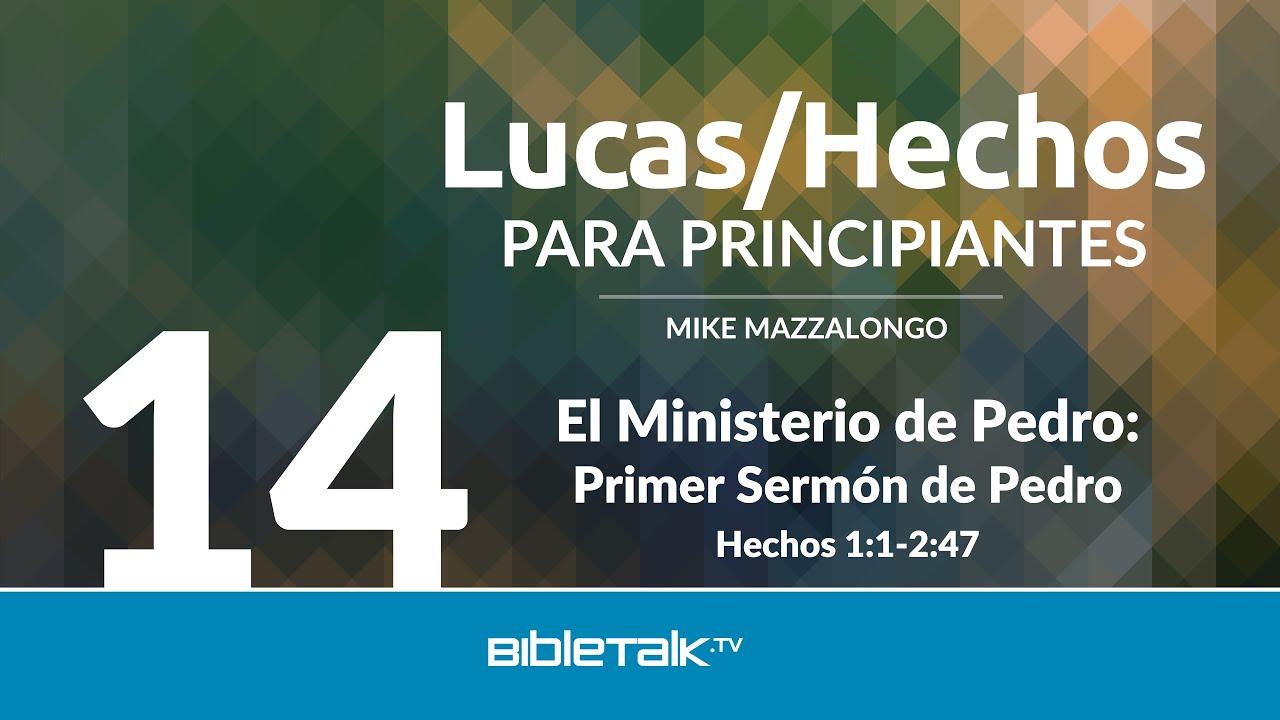 14. El ministerio de Pedro
