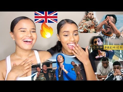 UK RAP/GRIME  REACTION 2018 | NOT3S,  J HUS, B YOUNG, FREDO, MO STACK & MORE
