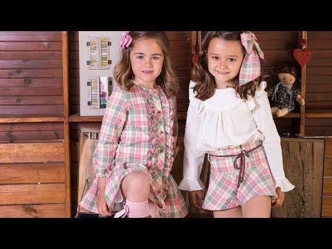 Falda pantalón de cuadros/skort. REVISTA PATRONES INFANTILES Nº 8