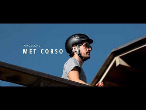 Met Corso mat sort cykelhjelm title=
