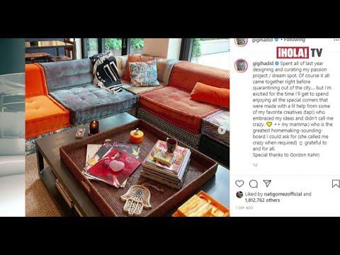 Gigi Hadid reveló que tardó un año en decorar su nuevo apartamento de Nueva York | ¡HOLA! TV