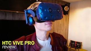 HTC Vive Pro Review: The Most Expensive VR Headset on the Market - Video Youtube