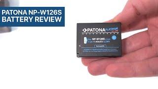 Patona Platinum NP-W126S Battery Review for Fujifilm Cameras