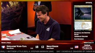 Pro Tour Dragons of Tarkir Round 1 (Draft): Jacob Wilson vs. William Jensen