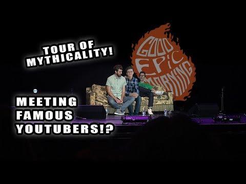 RHETT AND LINK ON TOUR - Vlog #17