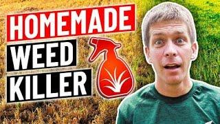 How To Make Homemade Weed Killer...vinegar, Dish Soap, Salt