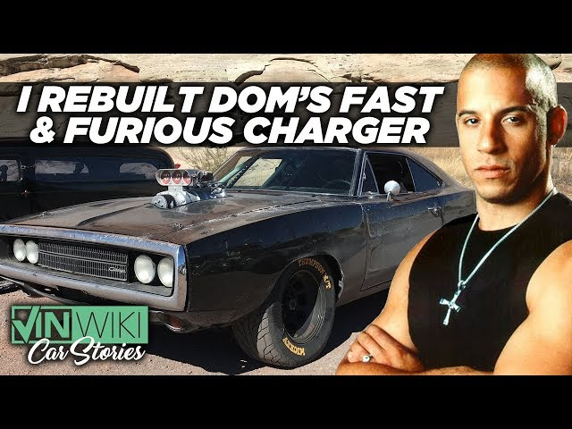 I found & rebuilt Toretto's Charger for SEMA 2019
