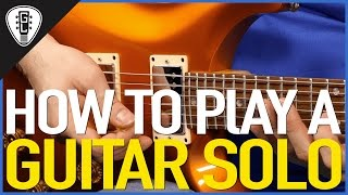How To Play A Guitar Solo - Beginner Guitar Lesson