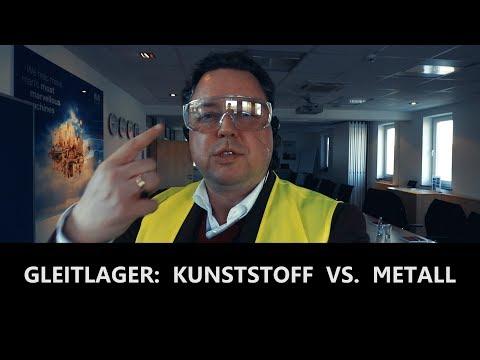Gleitlager: Kunststoff vs. Metall - 2 Tage bei Igus