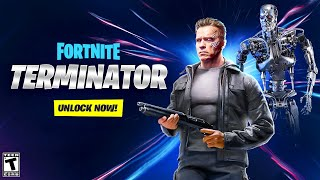 *NEW* TERMINATOR ARRIVES in Fortnite! (NEW SKINS, CHALLENGES + MORE) by Ali-A