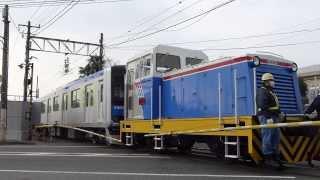 東武鉄道60000系甲種輸送