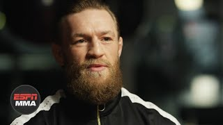 In his exclusive interview with Conor McGregor, Ariel Helwani asks him about the decision to fight Donald Cerrone in his return to the Octagon at UFC 246 and to have the fight at 170 pounds. To watch the full interview, watch Ariel Helwani's MMA Show this Monday starting at 1 p.m. ET.  #ConorMcGregor #UFC246 #ESPNMMA ✔ For more UFC, sign up for ESPN+ https://plus.espn.com/ufc ✔ Get the ESPN App: http://www.espn.com/espn/apps/espn ✔ Subscribe to ESPN on YouTube: http://es.pn/SUBSCRIBEtoYOUTUBE ✔ Subscribe to ESPN FC on YouTube: http://bit.ly/SUBSCRIBEtoESPNFC ✔ Subscribe to NBA on ESPN on YouTube: http://bit.ly/SUBSCRIBEtoNBAonESPN ✔ Watch ESPN on YouTube TV: http://es.pn/YouTubeTV  ESPN on Social Media: ► Follow on Twitter: http://www.twitter.com/espn ► Like on Facebook: http://www.facebook.com/espn ► Follow on Instagram: http://www.instagram.com/espn  Visit ESPN on YouTube to get up-to-the-minute sports news coverage, scores, highlights and commentary for NFL, NHL, MLB, NBA, College Football, NCAA Basketball, soccer and more.   More on ESPN.com: http://www.espn.com