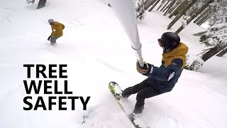 #12 Snowboard intermediate – Tree riding & tree well safety