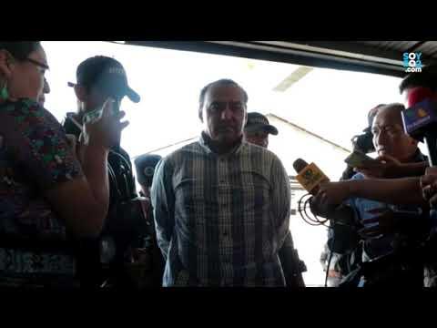 Así llegó a Tribunales Jorge Ramón Aparicio, primo de Alejandro Sinibaldi