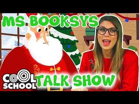 Ms. Booksy + Drew Pendous Meet Santa! 🎅   Cool School Christmas Compilation