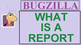 Bugzilla Tutorial - 7 - REPORTS | WHAT IS A REPORT ?