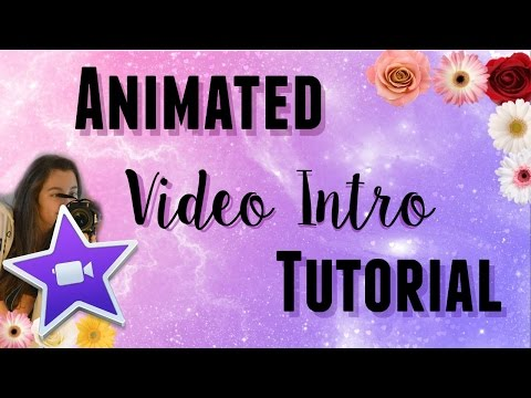 Animated Video Intro Tutorial in iMovie
