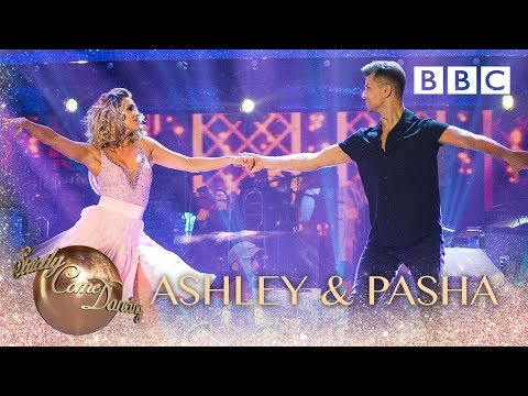 Ashley Roberts & Pasha Kovalev Salsa to 'Time Of My Life' – BBC Strictly 2018
