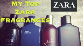 My Top Zara Fragrances For Men 2018!