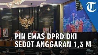 Replika Pin Emas DPRD DKI Sedot Anggaran Rp1,3 Miliar