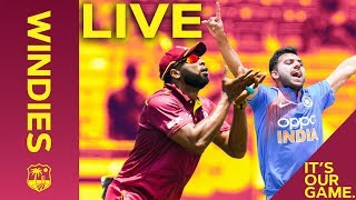 🔴 LIVE REPLAY Windies vs India - 3rd IT20 2019