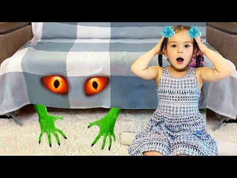 София и её монстр под кроватью - детская история