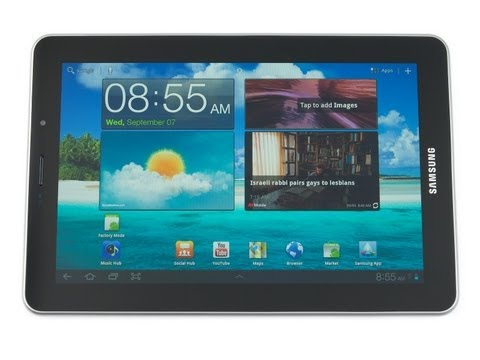 Samsung Galaxy Tab 7.7 Preview