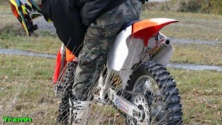CR250 Testing after Engine Rebuild