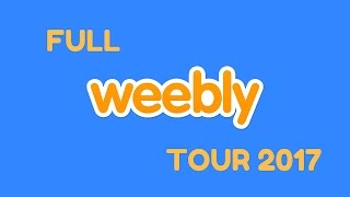 Weebly Tour 2017