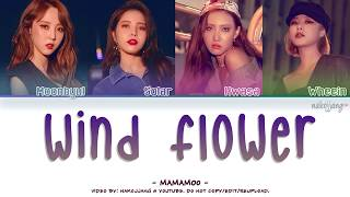 MAMAMOO (마마무) – WIND FLOWER (Color Coded Lyrics Eng/Rom/Han/가사)