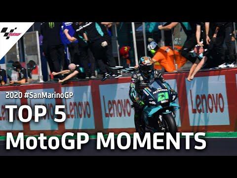 【決勝ハイライト】MotoGP サンマリノGP 5分でわかるハイライト動画