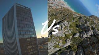 Dives: Building vs Mountain