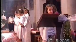 preview picture of video 'Prvé sväte prijimanie 2009 Želiezovce'