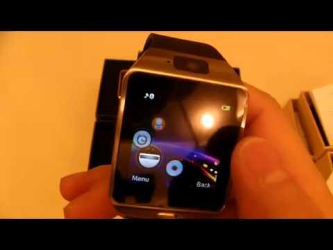 Video Jam Tangan Pintar Terkini DZ09 Bluetooth Smart Watch Phone