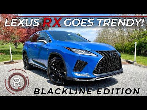 The 2021 Lexus RX 350 F-Sport Blackline Edition is a Trendier Looking Luxury SUV
