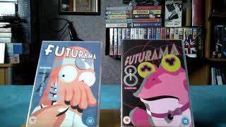 My Futurama DVD Haul: Season 5-8