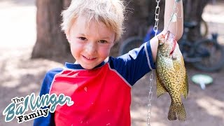 He Caught His First Fish!!! Camping Vlogs 2016 Summer Vacation