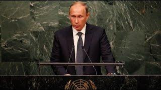 'Do you realise what you've done?' Putin addresses UNGA 2015 (FULL SPEECH)