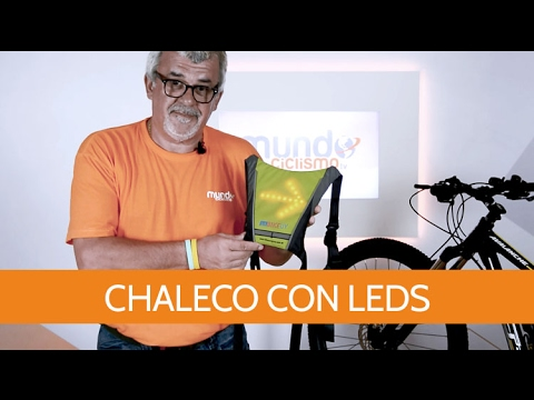 Chaleco con indicadores LED
