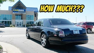 I Took the Cheapest Rolls-Royce Phantom to Carmax for an Appraisal: 1 Year Ownership Report!