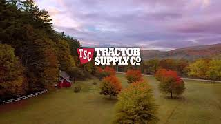 Prepare for shorter days and cooler nights with Tractor Supply