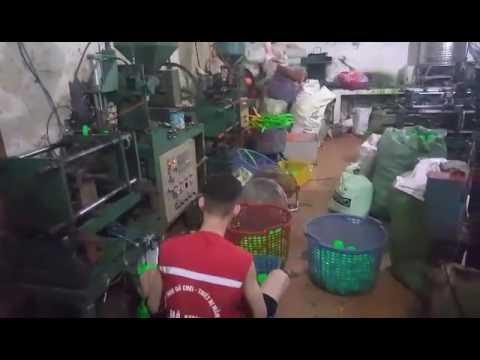 Video quy trình sản xuất bóng nhựa nhà bóng