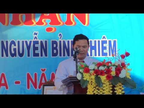Phát biểu của Trưởng phòng GD&ĐT Thuận Nam