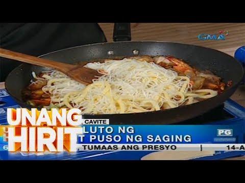 [GMA]  Unang Hirit: Malinamnam na pancit ng Cavite   UH Food Trip