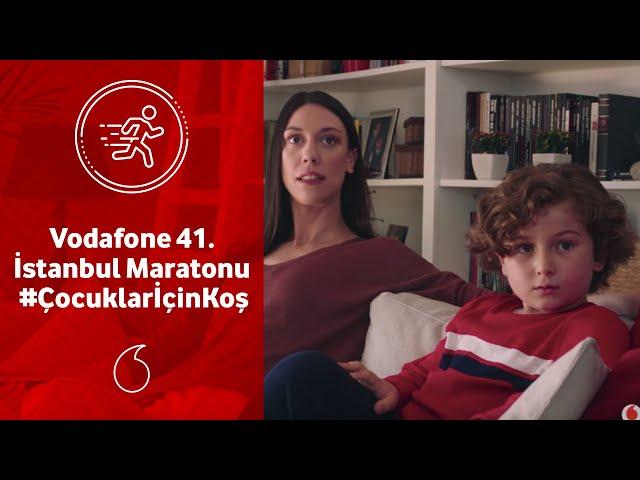 Vodafone 41. İstanbul Maratonu - #ÇocuklarİçinKoş