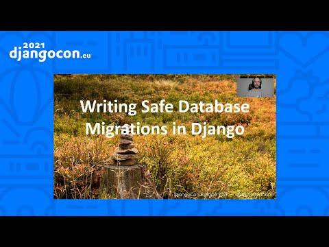 DjangoCon 2021 | Writing Safe Database Migrations | Markus Holtermann thumbnail