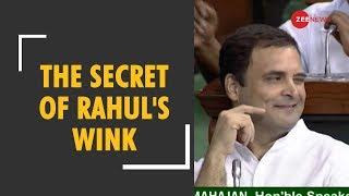 Secret of Rahul Gandhi's wink exposed in No confidence motion debate | Kholo.pk
