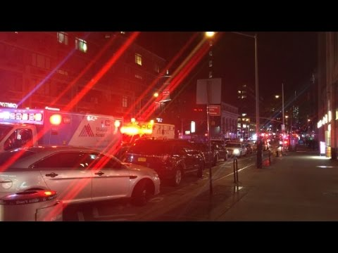 Kraftig explosion i new york manga skadade