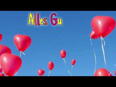 Geburtstagswünsche Alles Gute zum Geburtstag (Animierte digitale Glückwunschkarte mit Musik)