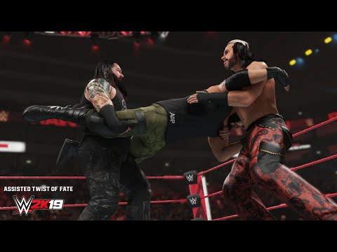 WWE 2K19 New Moves Pack DLC now available